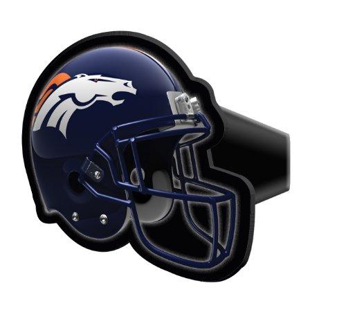 Football Helmet Trailer Hitch Cover - NFL Denver Broncos Economy Hitch Cover