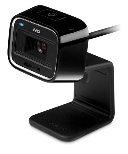 Microsoft LifeCam HD-5000 720p HD Webcam - - Microphone Microsoft Webcam With