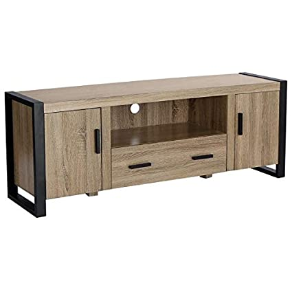 Tremendous Amazon Com Skb Family Reclaimed Wood Tv Stand 60 Inches Download Free Architecture Designs Grimeyleaguecom