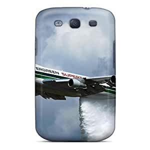 New Style Tpu S3 Protective Case Cover/ Galaxy Case - Evergreen 747 Supertanker