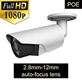 ROMIX TL-E0473H 2.0 MP1080P POE Bullet Security IP Camera with 2.8-12 mm Varifocal