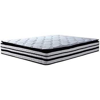 Swiss Ortho Sleep 13 inch Hybrid Innerspring and Memory Foam Mattress with Pillow Top (Full)