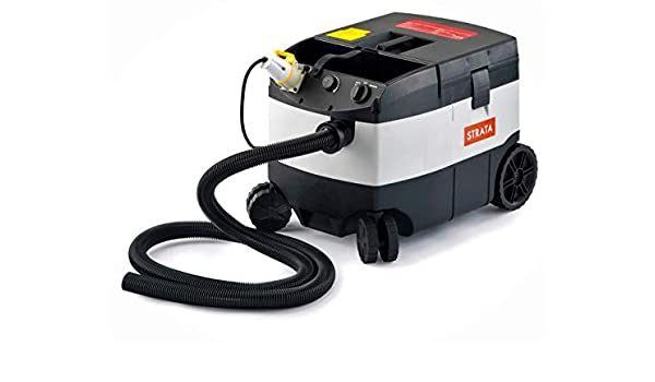 QTech EDXDW50/110 Strata DW50 - Aspiradora para móviles en seco y húmedo (1200 W, 4000 l/min, 110 v/60 Hz), color gris y negro: Amazon.es: Bricolaje y herramientas