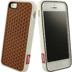 finest selection 1d24d eb92d Original Boxed VANS Case Cover In Brown/White For Iphone 5 With Screen  Protector