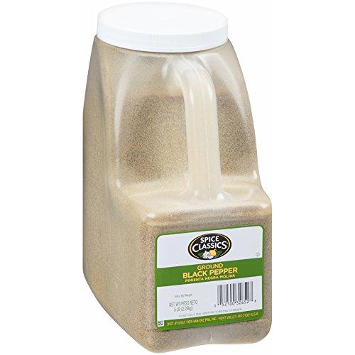 (Spice Classics Ground Black Pepper, 5 Pound)