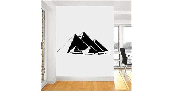 Tianpengyuanshuai Egipto pirámide película de Pared símbolo ...
