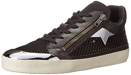 Ash Women's Shy Fashion Sneaker, Black/Black, 40 EU/10 M US