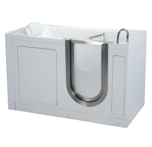 Ella Deluxe Soaking Walk In Bath (03058), 80 Sec. Fast Drain, 29.5