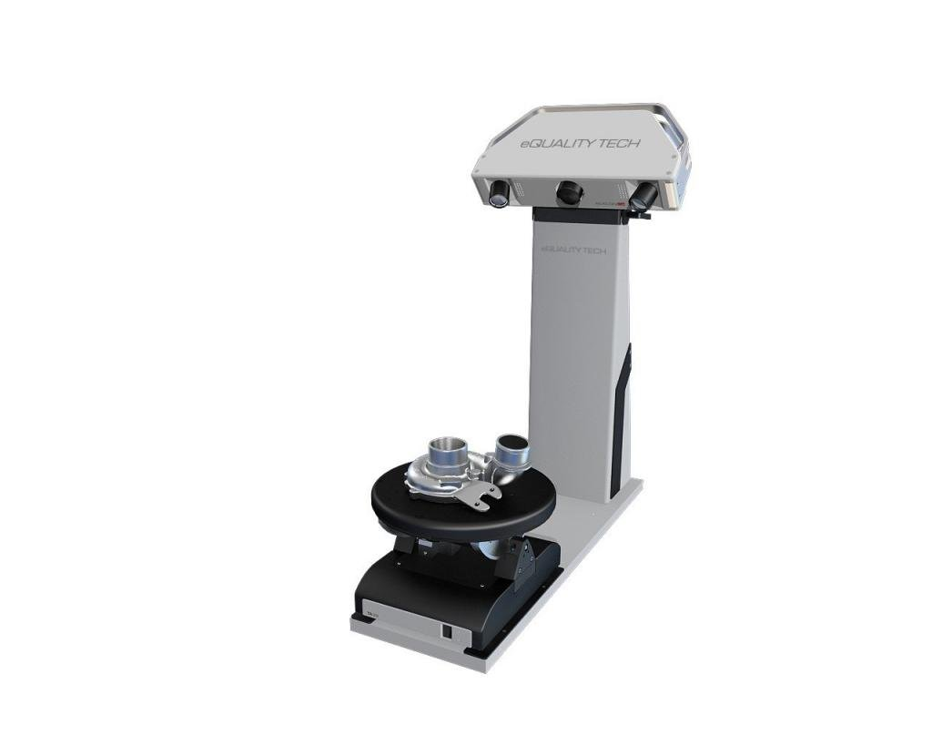 eQUALITY TECH Rexcan CS+ 2.0 MP 200mm FOV Blue LED Structured Light 3D Scanner