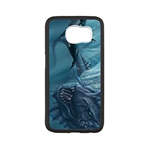 ancient giant fish Samsung Galaxy S6 Cell Phone Case Black ten-399795