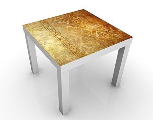 Design Table The 7 Virtues - Faith 55x55x45cm, Table Colour:Black;Dimensions:55 x 55 x 45cm by Apalis by Apalis