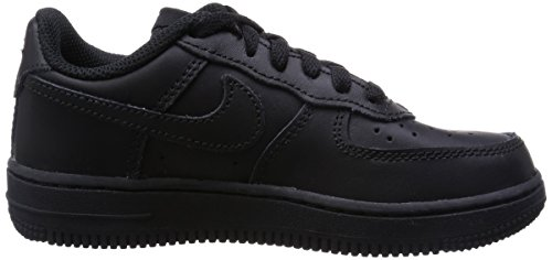 Nike Herren Force 1 (Ps) Sneaker Negro (Black / Black-Black)