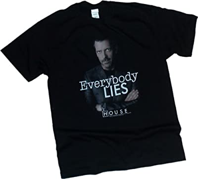 """Everybody Lies"" -- NBC's House M.D. Adult T-Shirt"