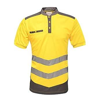Regatta TRS1763L9PQ Polo táctico de alta visibilidad, tamaño 3XL, color amarillo y gris (Pack de 16): Amazon.es: Industria, empresas y ciencia