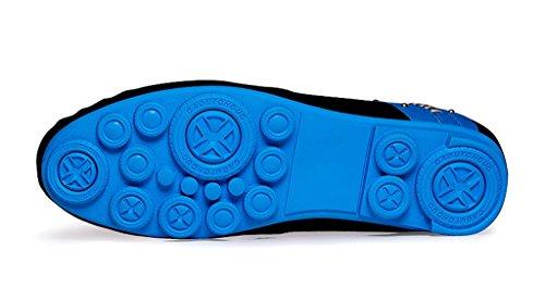 Minitoo , Chaussures à lacets homme - Bleu - Blu (blu), 40 EU