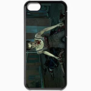 taoyix diy Personalized iPhone 5C Cell phone Case/Cover Skin Left 4 Dead 2 Black