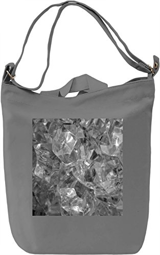 Ice Print Borsa Giornaliera Canvas Canvas Day Bag| 100% Premium Cotton Canvas| DTG Printing|