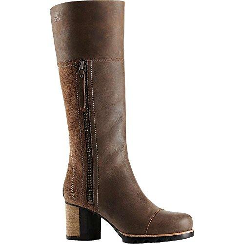 Image of Sorel Addington Tall Boot - Women's Umber / Black 8.5