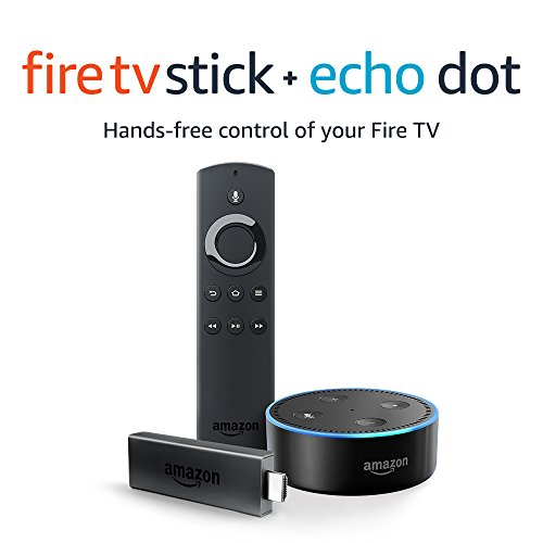Fire TV Stick with Alexa Voice Remote + Echo Dot $59.99