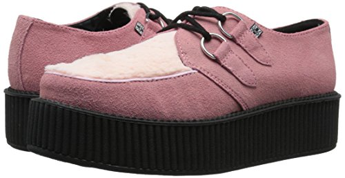 Fashion T Faux k Pink Sneaker Fur Unisex u Creeper YYwRxnqSva