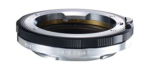 Voigtlander VM-E Close Focus Adapter for VM-Mount Lens to Sony E-Mount Camera by Voigtlander