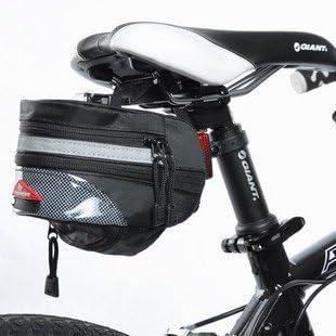 Nexify bolso del asiento de bicicleta de la bici negro al aire ...