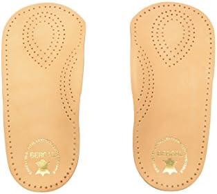 Perfect-Plus-Leder-Fußbett mindert Feuchtigkeit und Schweißbildung, Groesse 42, Damen
