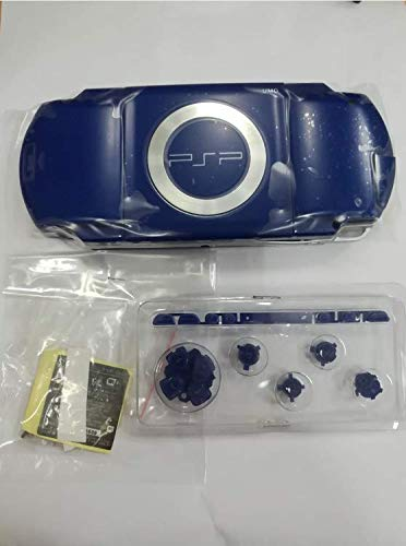 Replacement Full Housing Shell Case Cover with Buttons Screws for PSP 1000 PSP1000~Blue