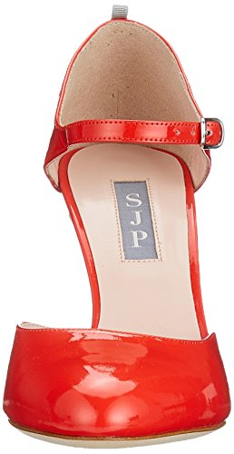 Sjp Por Mujeres Sarah Jessica Parker Campbell Riemchenpumps Roja (cuna De Patente Rojo) Mejor auténtico Precio más bajo en línea Lo último en línea barato Gk1Nn2