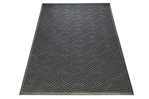 Maize Collection - A1 Home Collections A1HCSM10 Doormat Heavy Duty Maize Rubber Mat with Drainage Hole Large 24X36 Commercial, 36