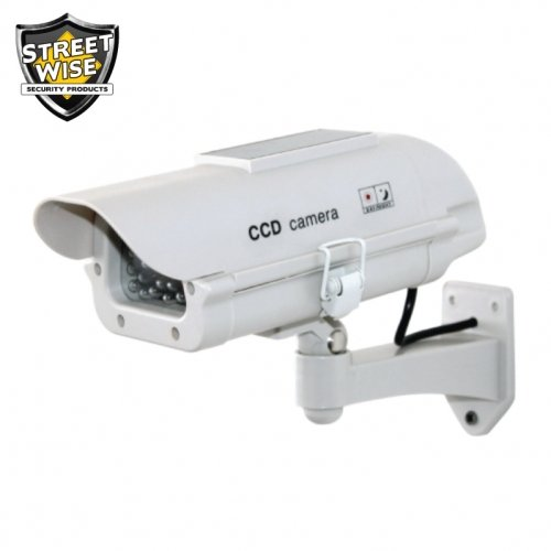 ダミーカメラでアウトドアハウジングW Solar Poweredライト B06XKWPZ2V