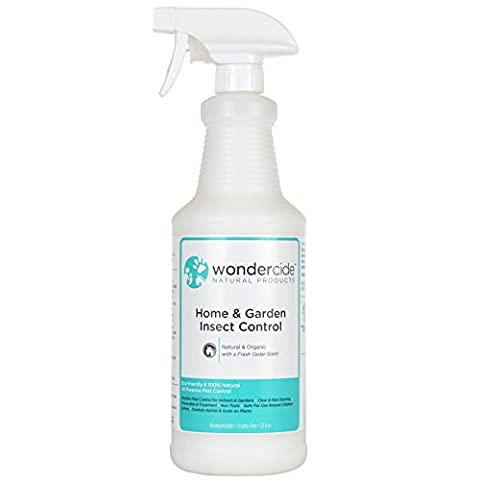 Wondercide All-Purpose Organic Home & Garden Insect Control 32 oz Spray (Moths Spray)