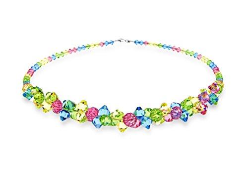 Exklusivos-cristales-de-Swarovski-en-Ana-Morales-seoras-colgante-plata-de-ley-con-cadena-plata-de-ley-47-cm