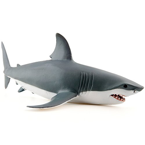 Jaws Rubber Shark Toy : Great white shark kamisco