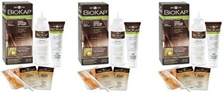 Bios Line BIOKAP – Nutricolor 0.0 New crema Aclarador 3 paquetes de 140 ml schiarisce hasta a dos tonos