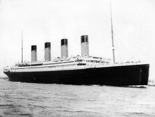 Titanic 24X36 Poster Banner Photo - RARE! #1