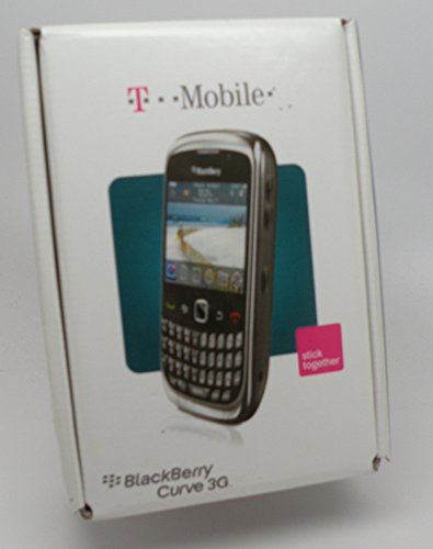 T-Mobile BlackBerry Curve 3G 9300 No Contract GSM 3G QWERTY Camera Smartphone ()