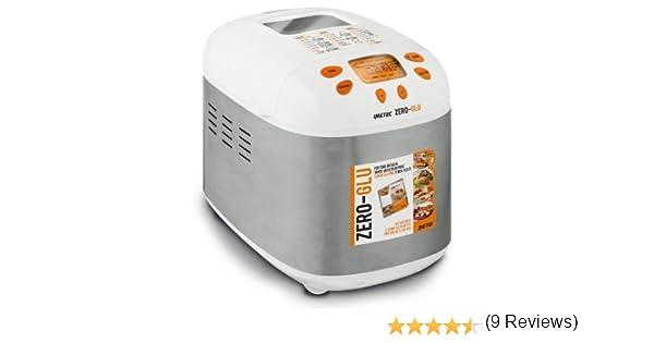 IMETEC Zero-Glu - Panificadora para hacer pan y dulces en casa, sin gluten y mucho más , 920 W [Importado de Italia]: Amazon.es: Hogar