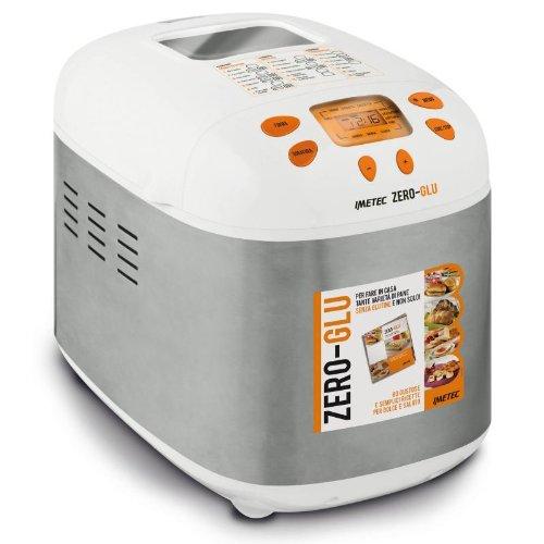 IMETEC Zero-Glu - Panificadora para hacer pan y dulces en casa, sin gluten y mucho más , 920 W [Importado de Italia]