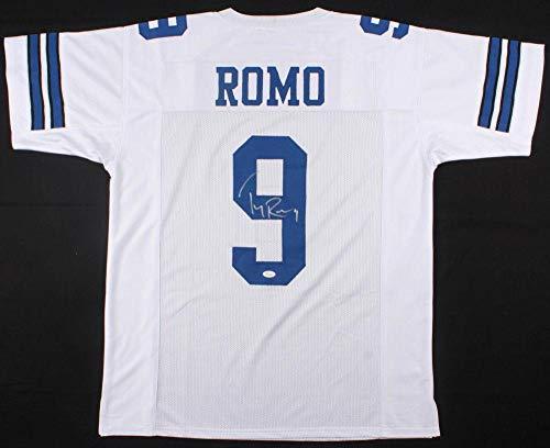 - Autographed Tony Romo Jersey - Pro Style W Witnessed Coa #wpp189547 - JSA Certified - Autographed NFL Jerseys