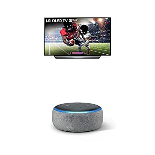 LG Electronics OLED77C8PUA 77-Inch 4K Ultra HD Smart OLED TV (2018) Bundle with Amazon Echo Dot (3rd Gen) (B07PGQNXFF) | Amazon price tracker / tracking, Amazon price history charts, Amazon price watches, Amazon price drop alerts