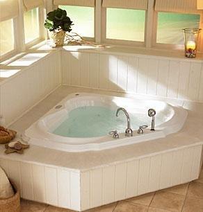 30a55577043 Image Unavailable. Image not available for. Color  Jacuzzi DT20959  Bellavista Corner Salon Spa Bath