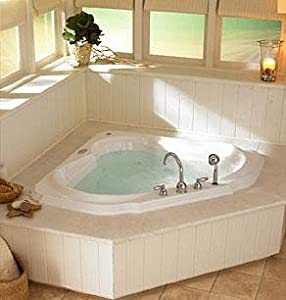 Jacuzzi Dt20959 Bellavista Corner Salon Spa Bath White