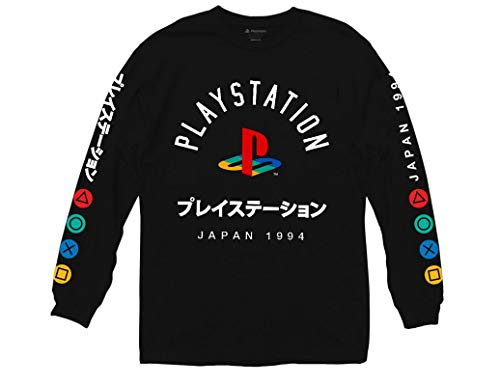Ripple Junction Officially Licensed Playstation Long Sleeve Shirt