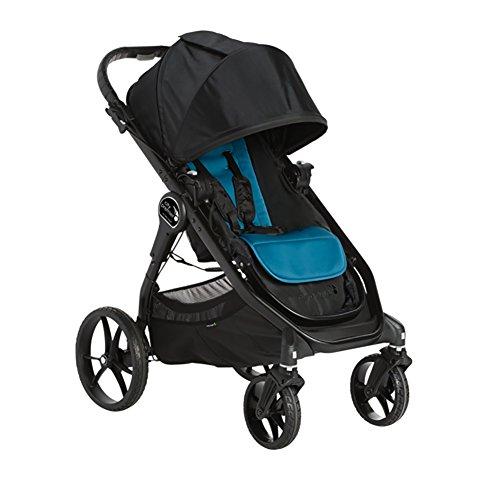 Baby Jogger City Premier Stroller, Teal/Black