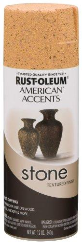 Rust-Oleum 238322 Stone Creations Spray, 12 oz, Tuscan Rock