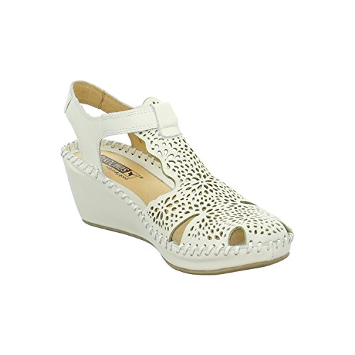 Pikolinos 943-0985nata - Sandalias de vestir de Piel para mujer Blanco