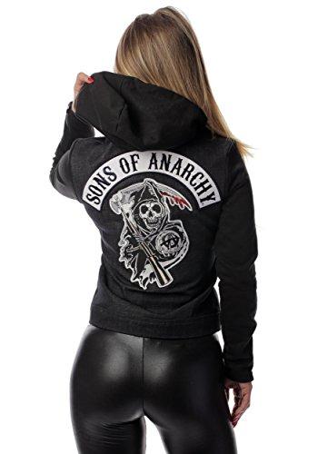 Women's Sons of Anarchy Denim Highway Costume Jacket
