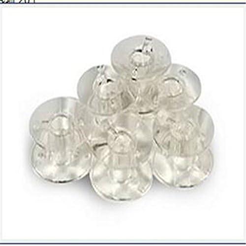 Juego de 20 canillas de plástico transparente para máquinas de ...