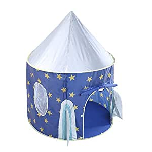 Perfeclan Spacecraft Play Tent – Kids Play and Exploration Discovery Station for Early Learning and Muscle Development – Indoor/Outdoor Use